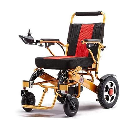 Amazon.com: Silla de ruedas eléctrica, ultra portátil ...
