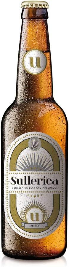 Cerveza Sullerica Blanca. Pack de 12 botellas de 0,33 l.