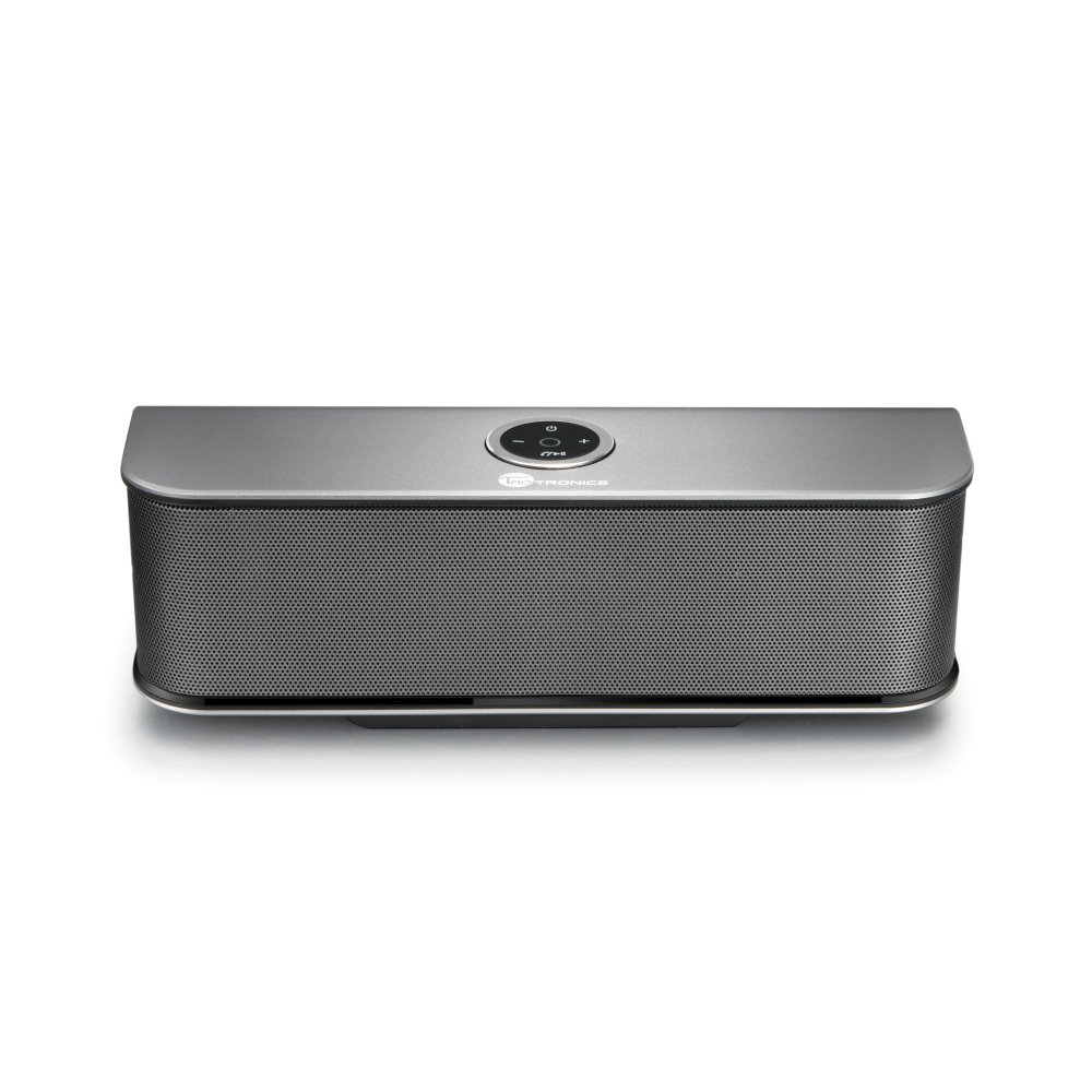 speakers under 20. this speaker comes with the combo of beauty and a beat. its aluminum body is not only stylish but also sturdy looking. 20-watt speakers under 20
