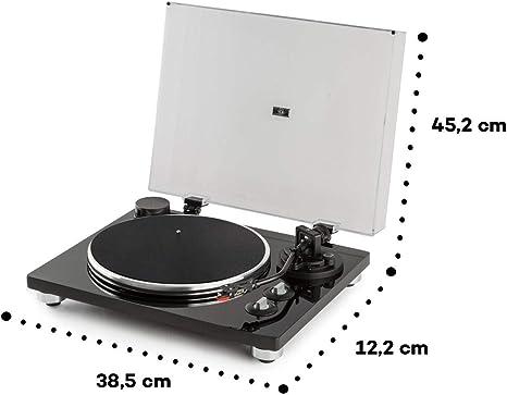 auna Pure Precision Tocadiscos con preamplificador: Amazon.es ...