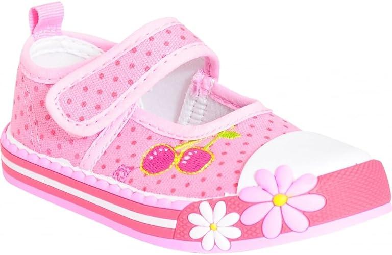 Toddlers Girls Babies Kids Pink Cherry