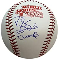 $65 » Darryl Strawberry Signed Official MLB Baseball - New York Mets 1986 World Series Rawlings Ball - Autographed and PSA Authenticated