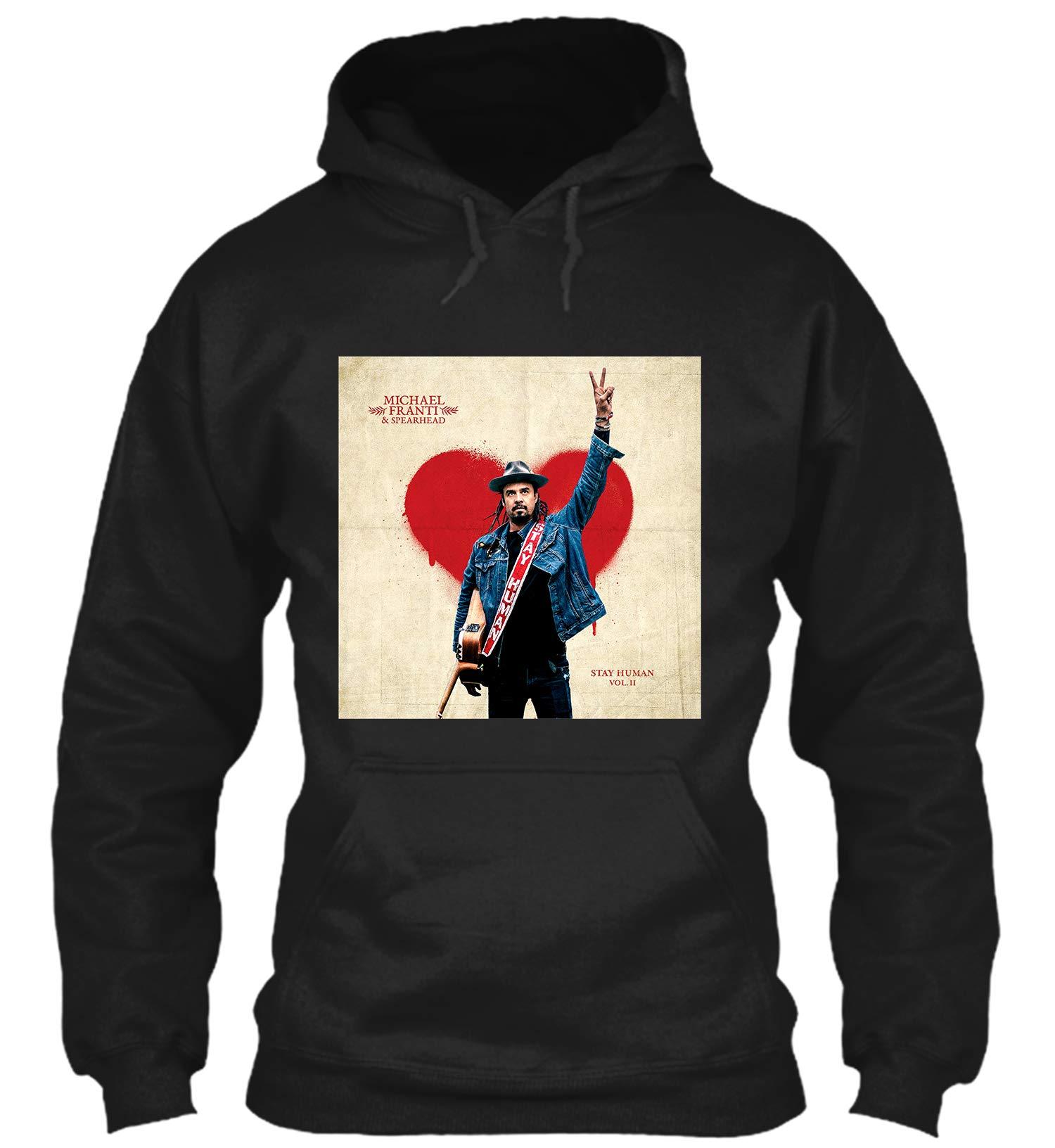 Stay Human Vol Ii Michael Franti Spearhead Black For Woman Shirts