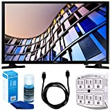 Samsung UN24M4500 23.6'' 720p Smart LED TV (2017 Model) w/ Accessories Bundle Includes, 6ft High Speed HDMI Cable - Black, SurgePro 6-Outlet Surge Adapter w/ Night Light and LED TV Screen Cleaner