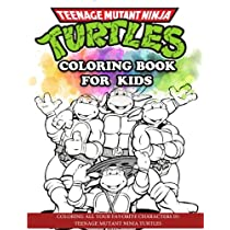 Amazon.com: Teenage Mutant Ninja Turtles Coloring Book for ...