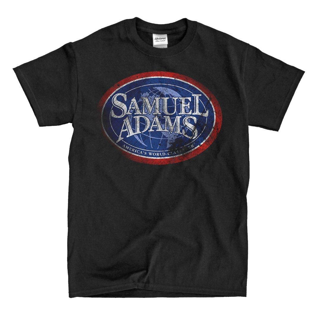Samule Adams Beer Vintage Black Tshirt