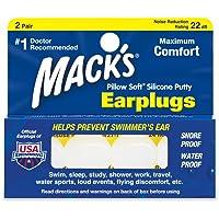 Mack's Pillow Soft - Ohrenstöpsel - für Erwachsene