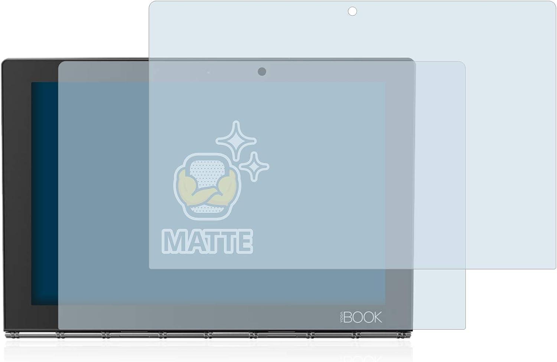 upscreen Bacteria Shield Matte Displayschutz Schutzfolie f/ür Lenovo Yoga C640 antibakterieller Schutz, matt - entspiegelt