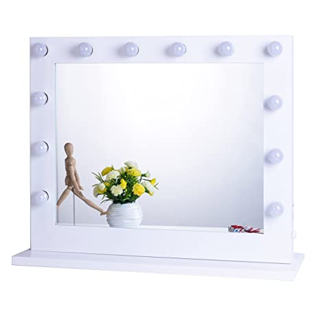 vanity set with mirror lights. Chende White Hollywood Lighted Makeup Vanity Mirror Light  Dressing Table Set Mirrors with Amazon com