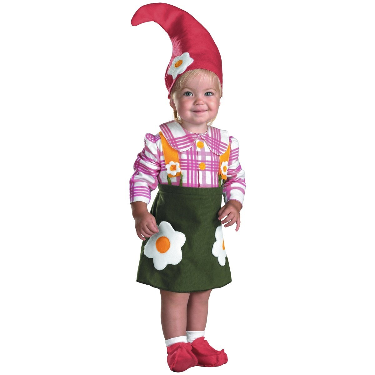 Amazon.com: Flower Garden Gnome Costume - Toddler Small: Clothing
