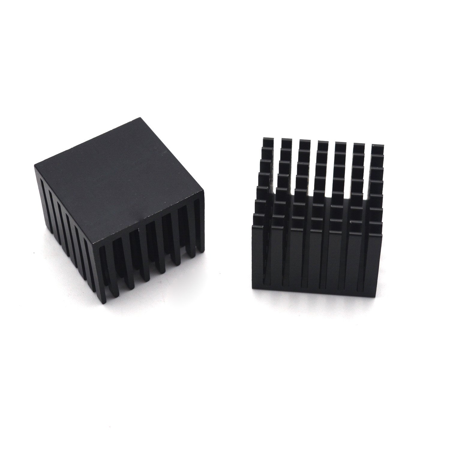 Antrader 6pcs 28 x 28 x 20mm Aluminum Heatsink Cooling Fin Black by Antrader (Image #2)