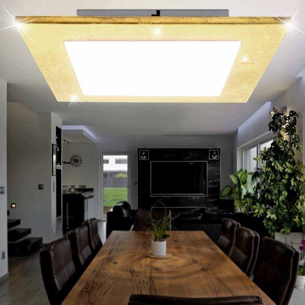 Hochwertige LED Decken Leuchte Beleuchtung 1140 Lumen warm