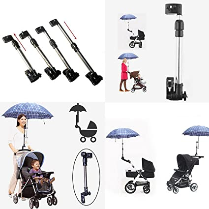 Dulcii – Carrito de bebé para cochecito silla paraguas soporte de barra soporte mango cochecito accesorios