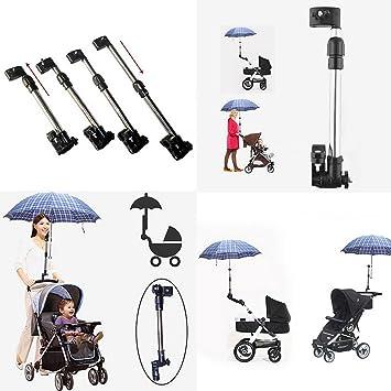 Dulcii - Carrito de bebé para cochecito silla paraguas soporte de barra soporte mango cochecito accesorios: Amazon.es: Deportes y aire libre