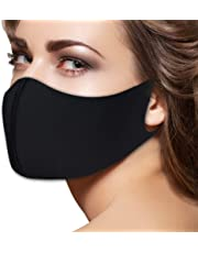 Fashion Flu Dust Masks N95 Filters Breathable Safety Respirator for Outdoor Cycling Half Face Mask Dust Pollen Flu Germs Allergens Surgical Masks for Women Men