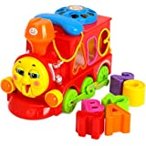 Toyshine Train With Multi-Skill Learning Features For Kids