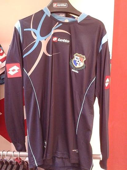 Camiseta Seleccion De Panama Futbol Manga Larga azul Lotto Official Soccer Jersey LS Navy