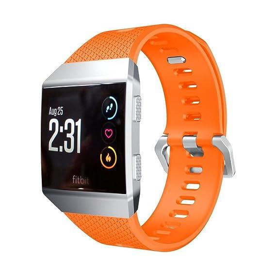 Correa Silicona para Fitbit Ionic Smart Fitness Watch, Magiyard Suave Correa de Banda de Deporte de reemplazo