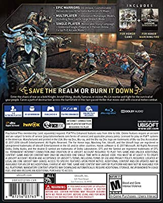 For Honor - Marching Fire Edition for PlayStation 4 USA: Amazon.es ...