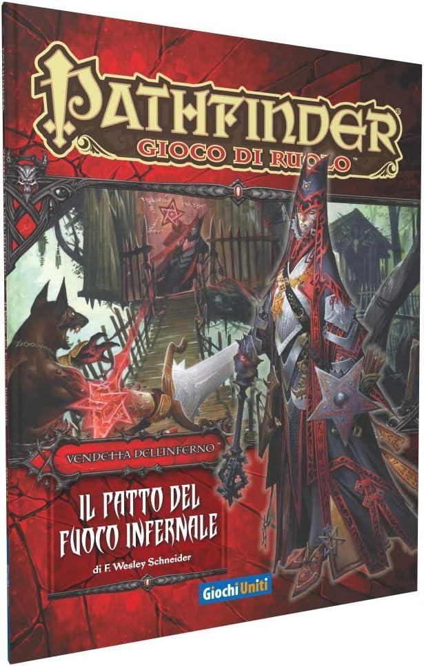 Giochi Uniti- Pathfinder: El Pacto del Fuego Infernal, Colores, GU3184: Amazon.es: Juguetes y juegos