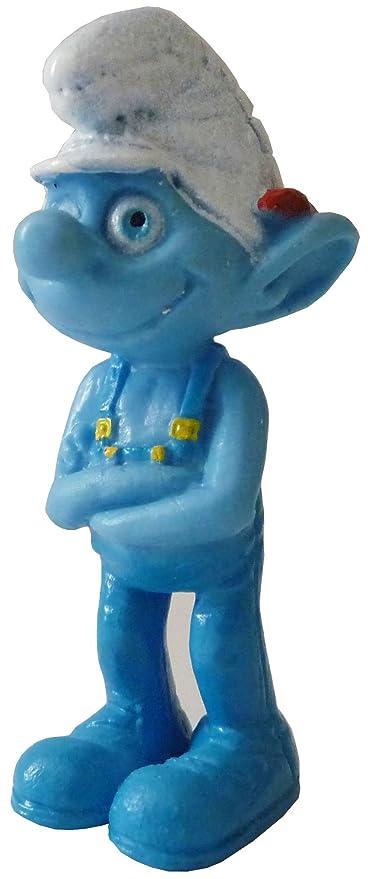 Amazon.com: Los Pitufos Película Collectible Figurines ~ 1.5 ...