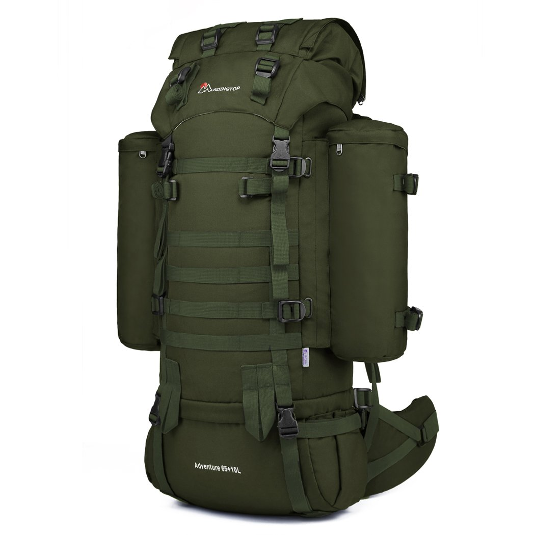 Amazon.com: ZAPT 65L Tactical Backpack Military Army Waterproof ...