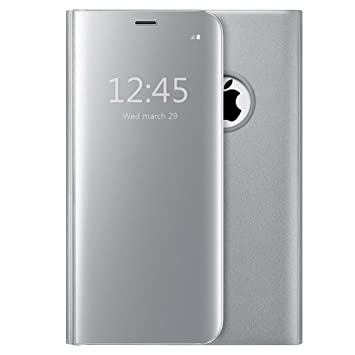 coque iphone 8 miroir argent