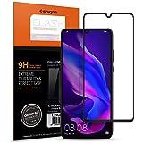 Spigen Full Cover Cam Ekran Koruyucu Huawei P30 Lite ile Uyumlu / Tam Kaplayan  - Black (1 Adet)