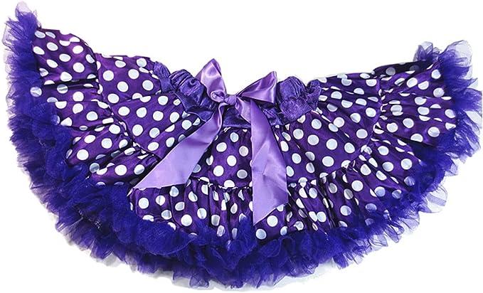 Dancina Falda de Lunares de Ballet para Niñas púrpura con Puntos ...