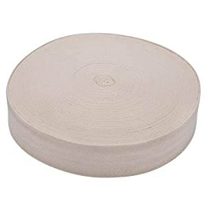 Antilog Tree Bandage, Cotton Tree Wrap Tape Bandage Binding Belt Grafting Bonsai Garden Tool(4CM-White)