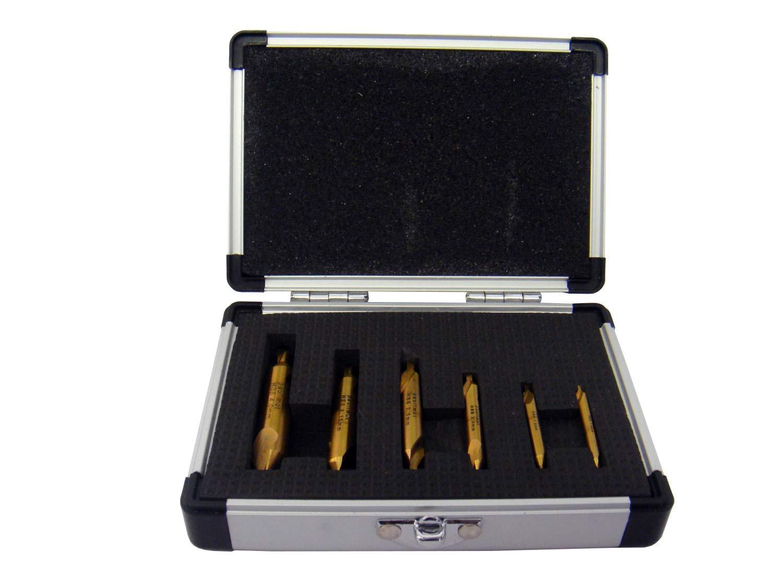 Schaftfräser-Set 22-teilig titanbeschichtet PAULIMOT Fingerfräser-