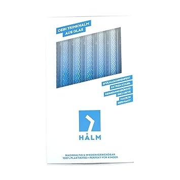 Amazon.com: HALM Glass Straws - Sea Life Charity Edition - 6 ...