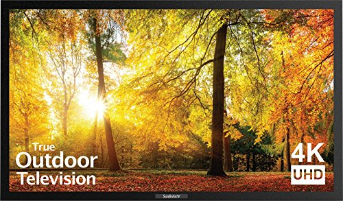 (SunBriteTV SE 43-Inch Weatherproof Outdoor Television - 4K UltraHD LED TV for Permanent Outside Installation - SB-SE-43-4K-BL )