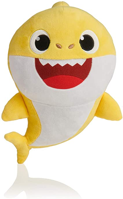 """New Pinkfong Baby Shark 10/"""" Official Song Doll Pink Blue Yellow Mommy Daddy Baby"""
