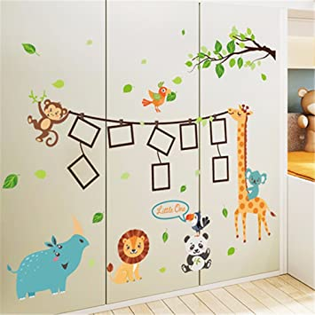 Perfect Bomeautify Wandtattoos Wandbilder Kinderzimmer Dekoration Kinderzimmer Wand  Fotos Tapete Aufkleber Schlafzimmer Nachttisch Selbstklebende Cartoon Tier  ...