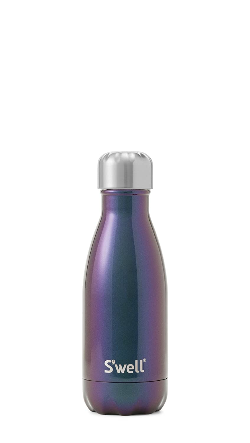 S'well Vacuum Insulated Stainless Steel Water Bottle, Double Wall, 9 oz, Neptune S'well GANT-09-A16