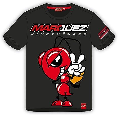 M&Ms Camiseta de Marc Marquez - Noventa Y Tres: Amazon.es: Ropa y ...