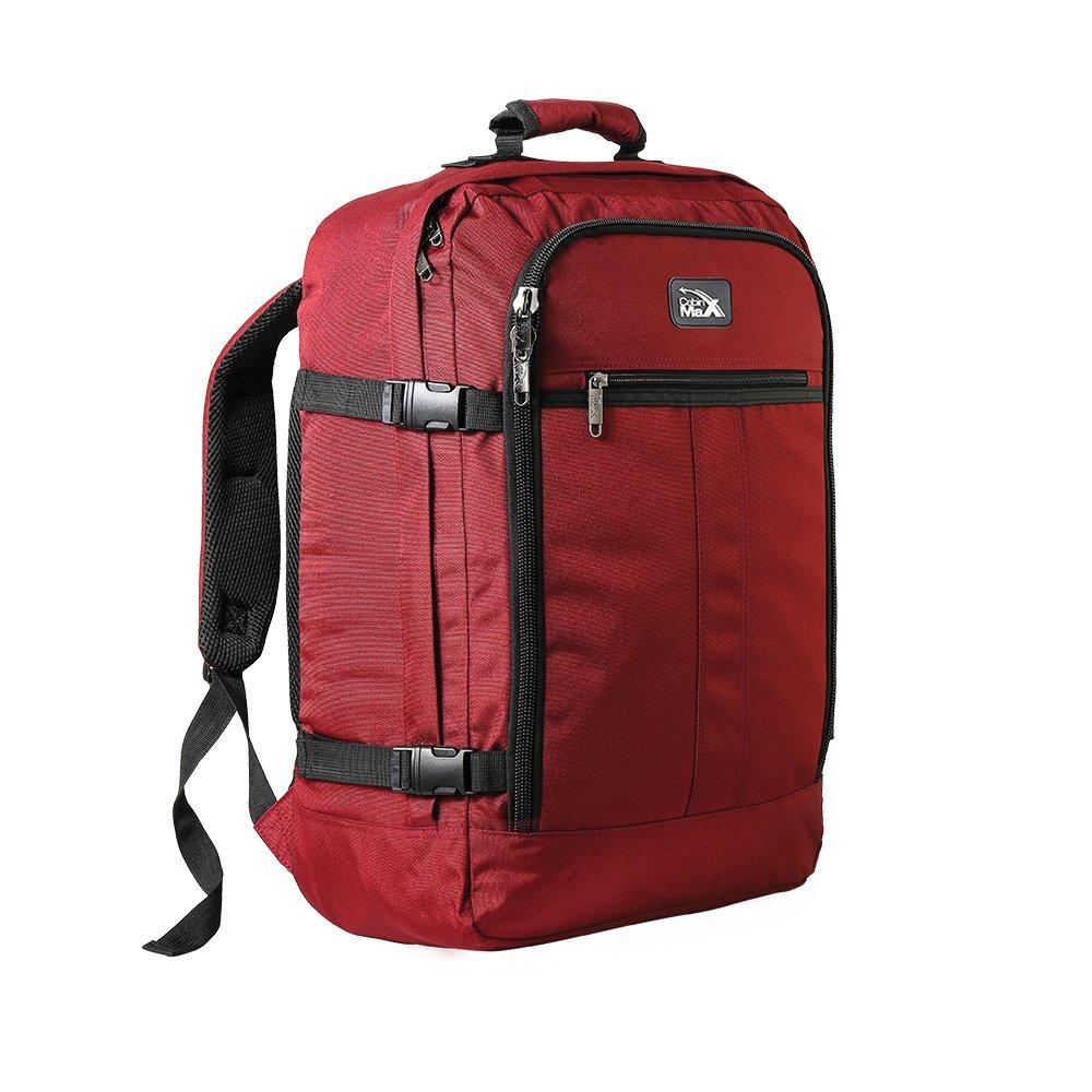 Cabin Max Mini Metz 30 Litre Travel Hand Luggage Backpack – 45 x 35 x 20 cm (Black) 30LMETZBLACK