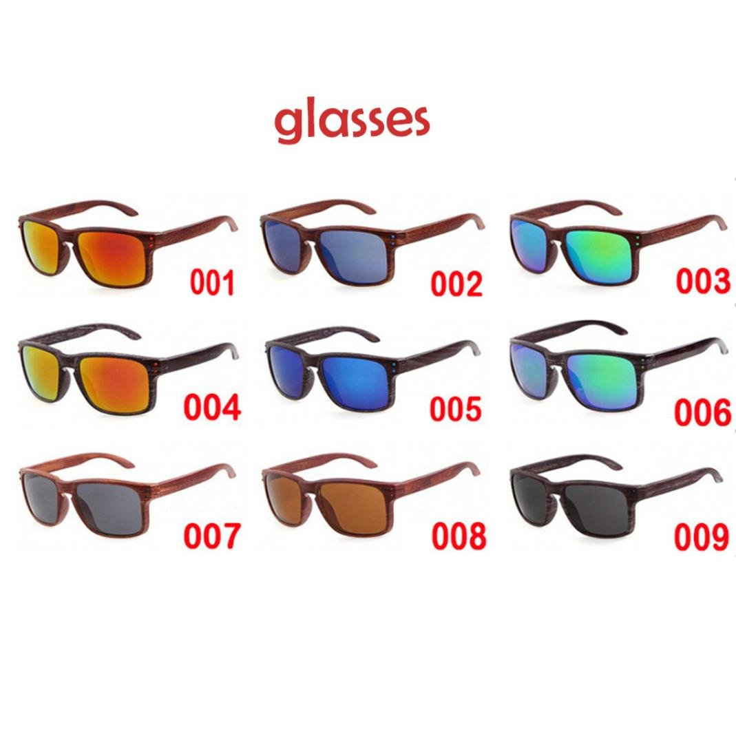 2c4f9c7d30f Amazon.com  Wensltd Clearance! 7 Colors Stylish Men Women Outdoor Casual  Sunglasses UV400 (A)  Sports   Outdoors