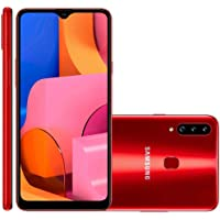 Smartphone Samsung Galaxy A20S 32GB Dual 6.5'' 13MP - Vermelho