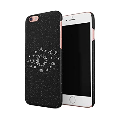 the latest d3716 2d02a Space Stars Galaxy Cute Sun Solar System Tumblr Planets Hard Thin Plastic  Phone Case Cover For iPhone 6 & iPhone 6s