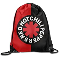 HLKPE RHCP Red Hot Chili Peppers Drawstring Backpack Sack Bag/Travel Bag