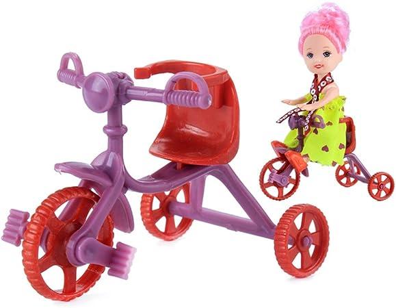 Eleganantamazing - Mini Bicicleta para muñecas de Juguete de ...