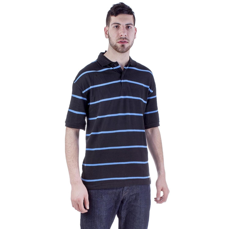 North Pole Men's Striped Polo Shirt