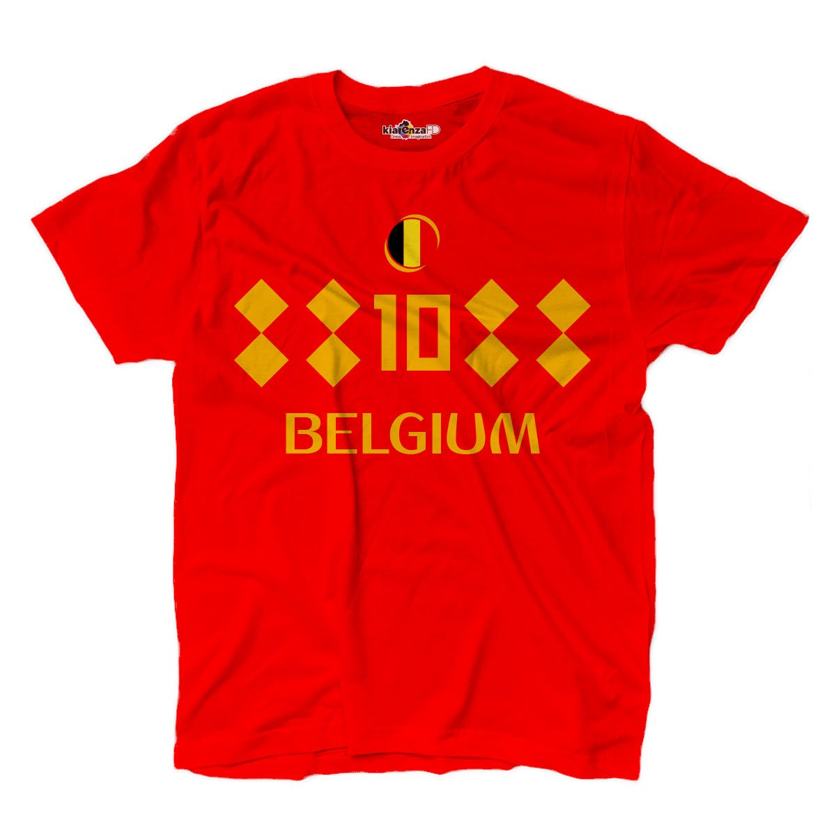 KiarenzaFD Camiseta Camiseta Fútbol Eden Hazard Sami Bélgica ...