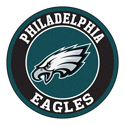 (FANMATS 17971 NFL Philadelphia Eagles Roundel Mat)