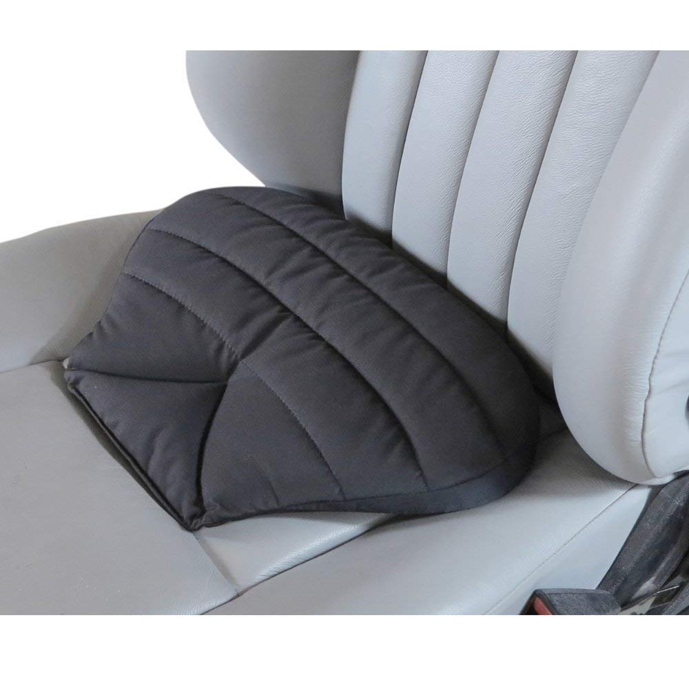 Big Hippo Orthopedic Memory Foam Seat Cushion - Ideal for Home Office Chair & Car Driver Seat Pillow