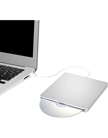 TOPELEK Grabadora CD Externa, Lector de CD/DVD, Disco Identificación Automática, Reproductor