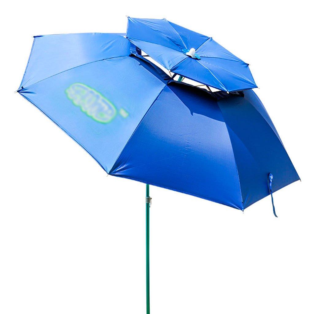 屋外傘|傘|釣り傘| 2メートル| 2.2メートル|ユニバーサル|折りたたみ釣り防水|日除け|抗紫外線|釣り傘釣りタックル 220cm  B07CYMDGKK