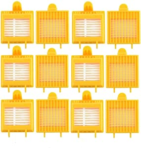 ANBOO Replenishment Hepa Filter for iRobot Roomba 700 Series 760 770 780 790 Including 12 Filters -Fully Compatible